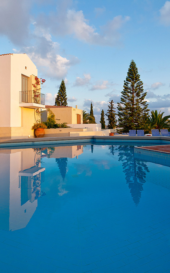 Pool of Galaxy Villas Crete, Villas & Apartments Resort in Hersonissos